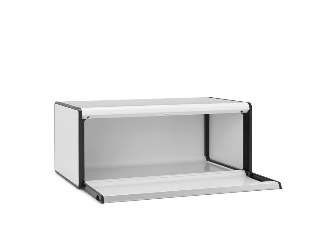 Кутия за хляб Brabantia Fall Front White(3)