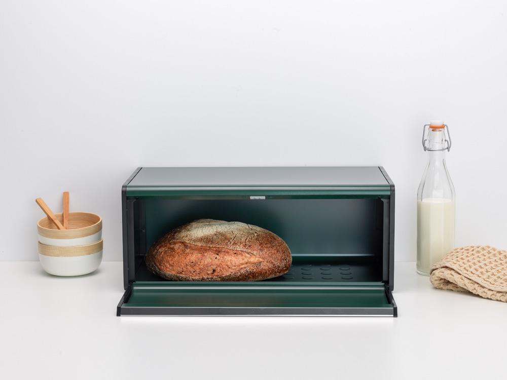 Кутия за хляб Brabantia Fall Front Pine Green(5)
