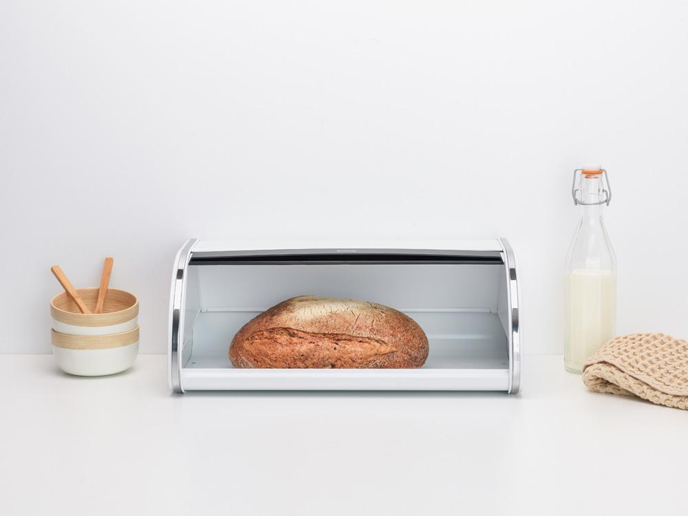 Кутия за хляб Brabantia Roll Top White(4)