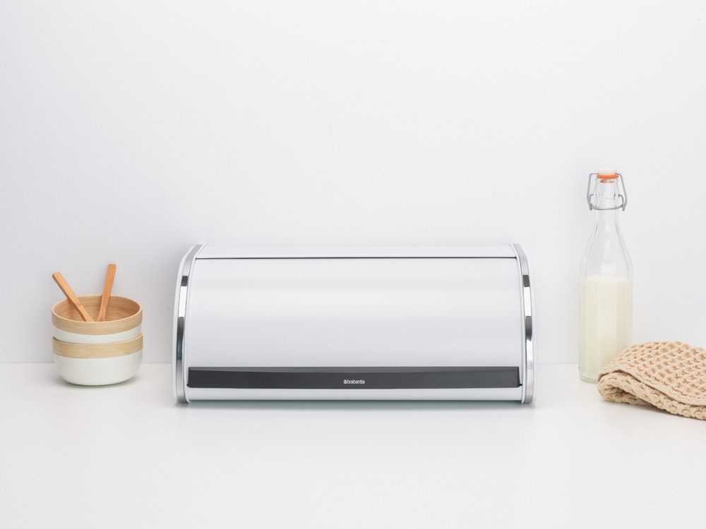 Кутия за хляб Brabantia Roll Top White(6)