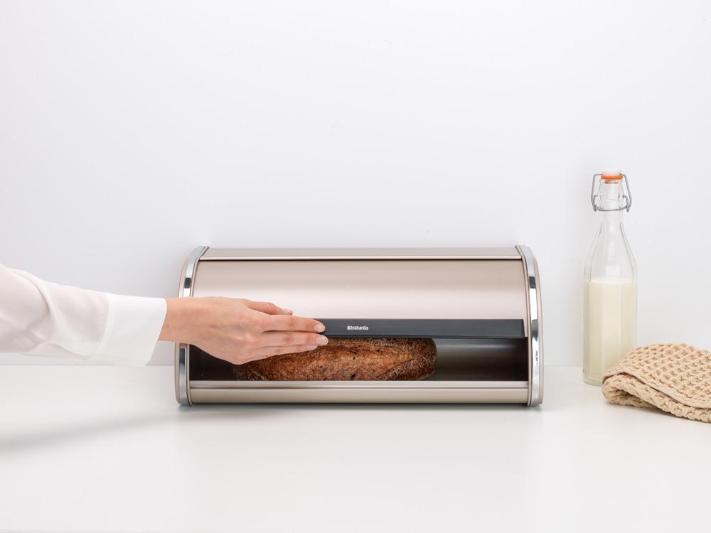Кутия за хляб Brabantia Roll Top Champagne(6)