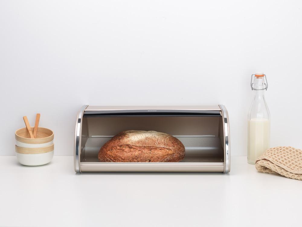 Кутия за хляб Brabantia Roll Top Champagne(7)