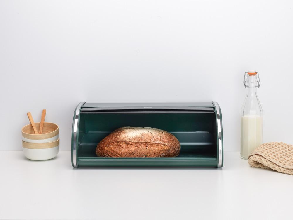 Кутия за хляб Brabantia Roll Top Pine Green(5)