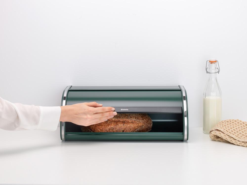 Кутия за хляб Brabantia Roll Top Pine Green(6)