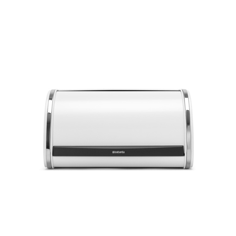 Кутия за хляб Brabantia Roll Top, White, средна