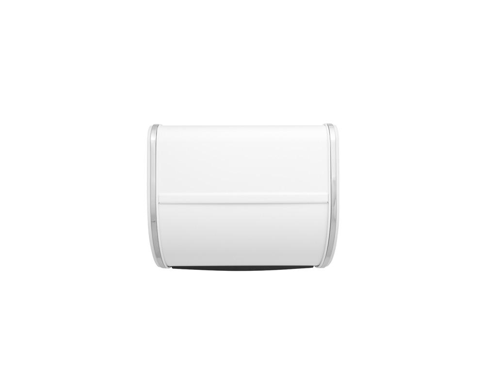 Кутия за хляб Brabantia Roll Top, White, средна(1)
