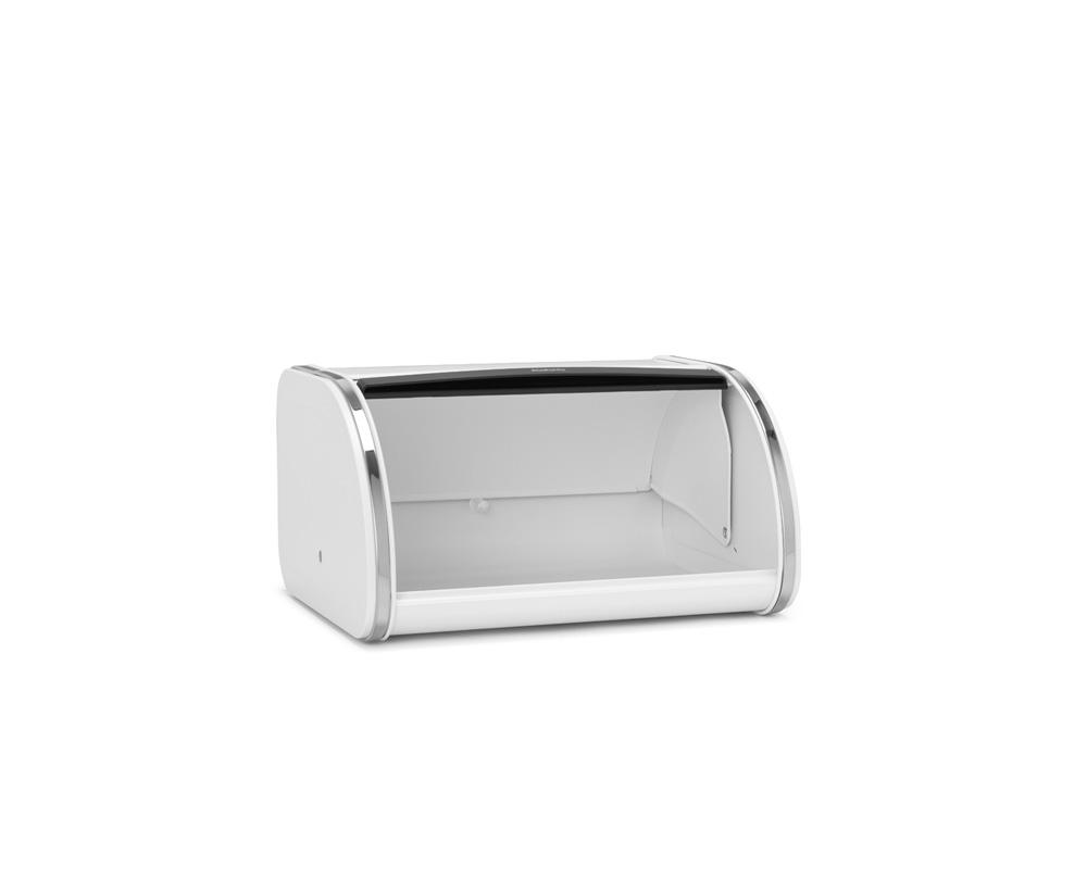 Кутия за хляб Brabantia Roll Top, White, средна(3)