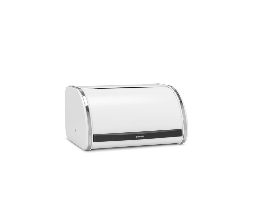 Кутия за хляб Brabantia Roll Top, White, средна(4)