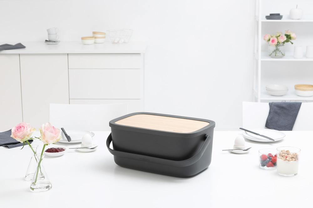 Кутия за хляб Brabantia Nic, Dark Grey(13)