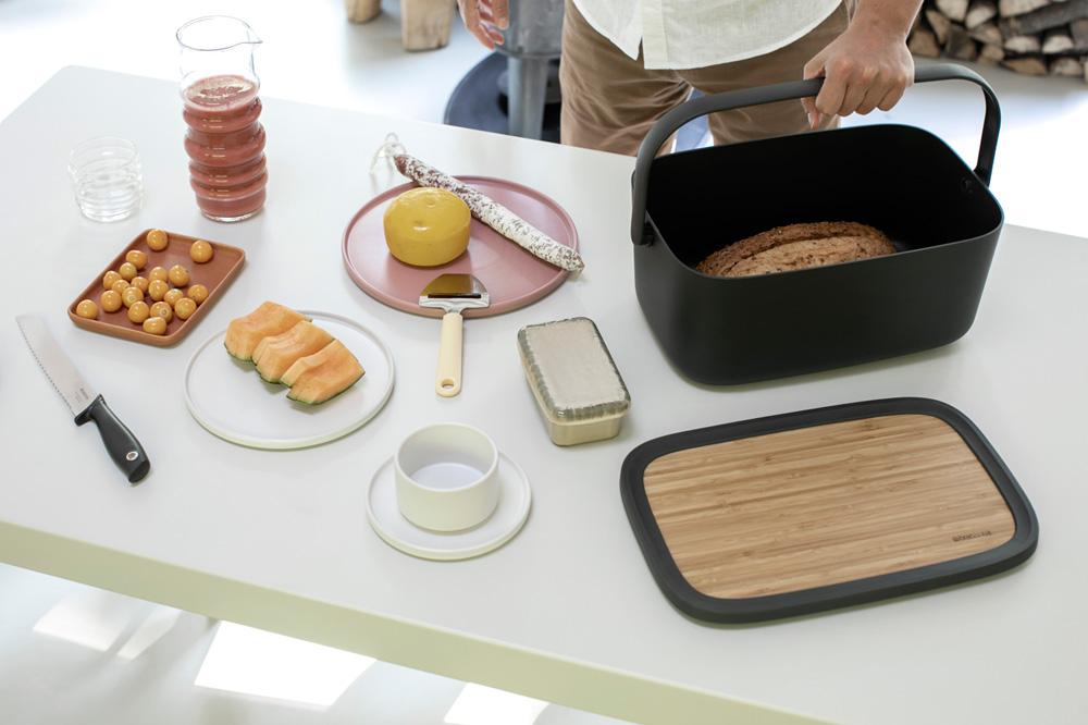 Кутия за хляб Brabantia Nic, Dark Grey(15)