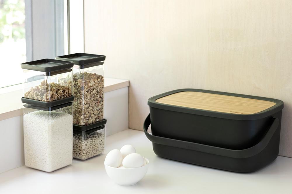 Кутия за хляб Brabantia Nic, Dark Grey(16)