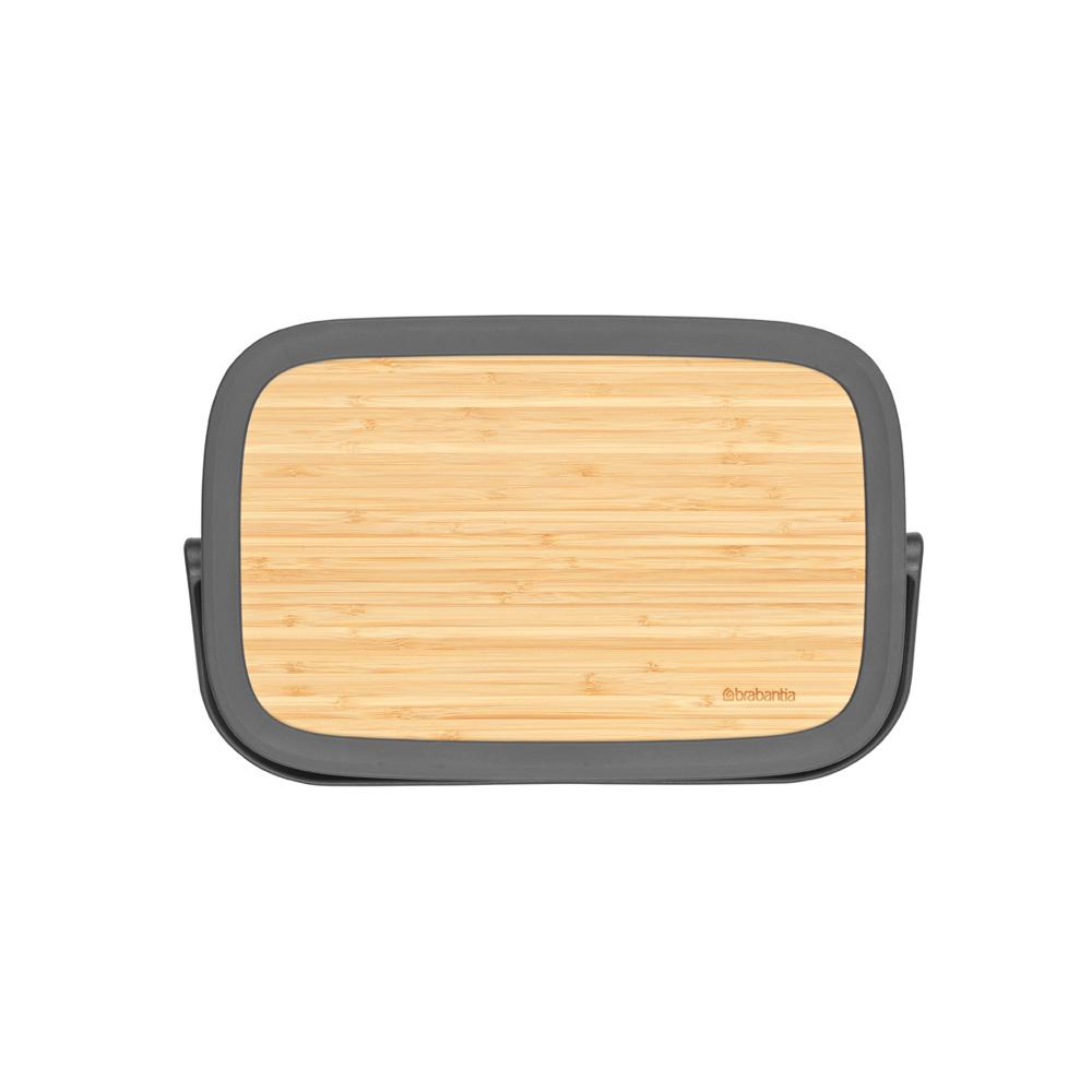 Кутия за хляб Brabantia Nic, Dark Grey(2)