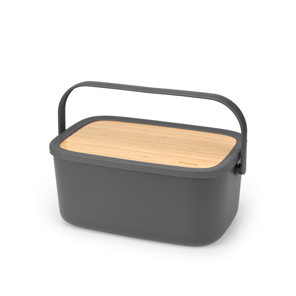 Кутия за хляб Brabantia Nic, Dark Grey(3)