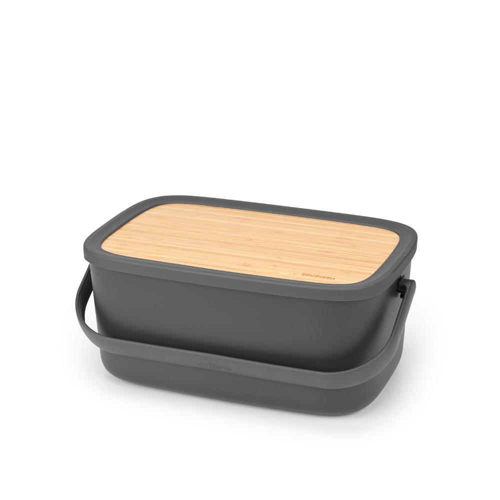 Кутия за хляб Brabantia Nic, Dark Grey(4)
