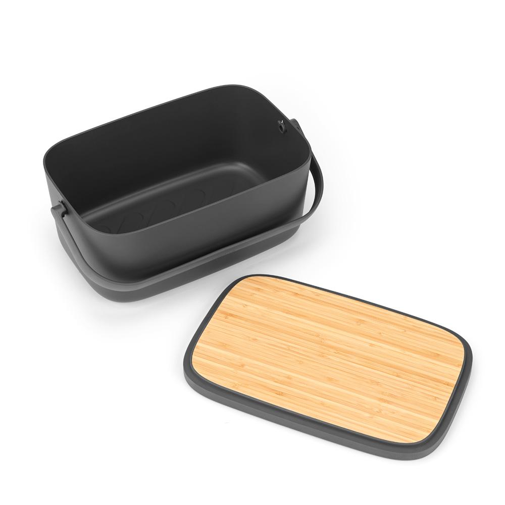 Кутия за хляб Brabantia Nic, Dark Grey(5)