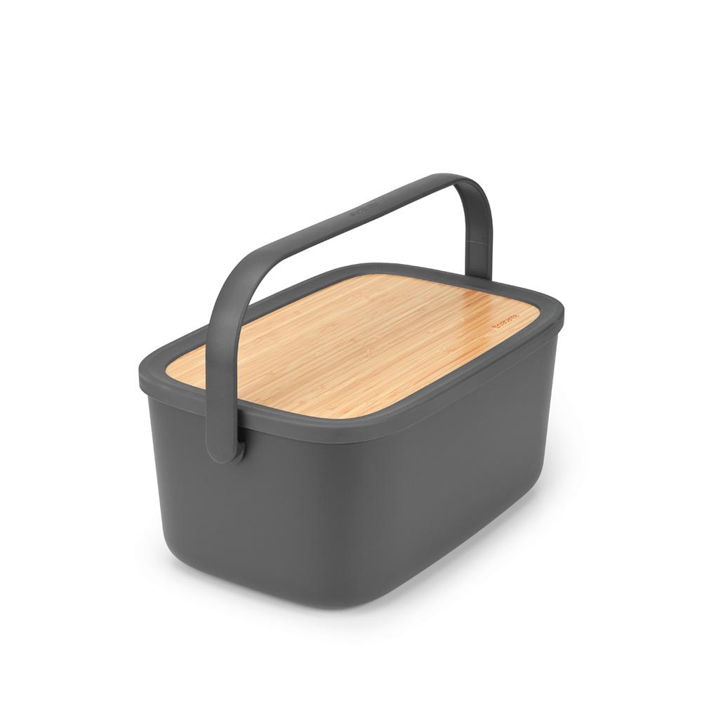 Кутия за хляб Brabantia Nic, Dark Grey(6)