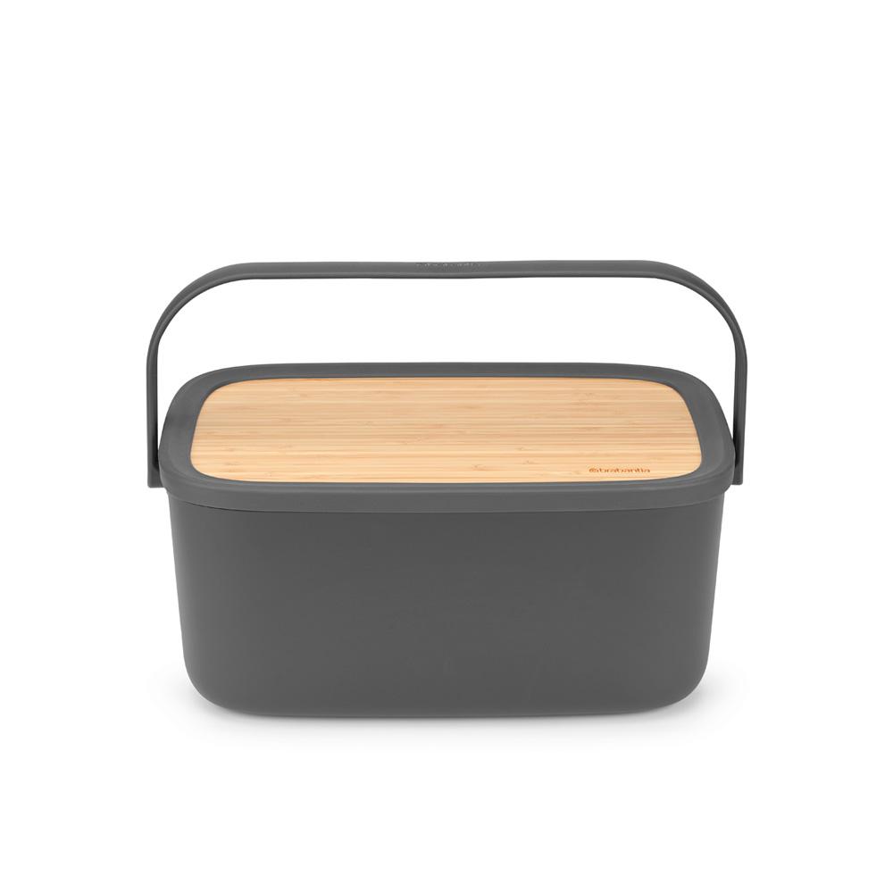 Кутия за хляб Brabantia Nic, Dark Grey(7)