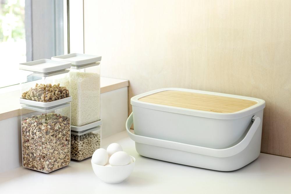 Кутия за хляб Brabantia Nic, Light Grey(18)