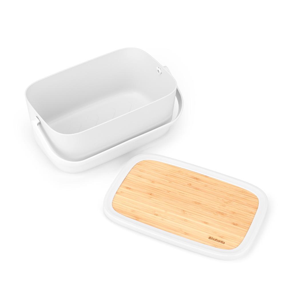 Кутия за хляб Brabantia Nic, Light Grey(4)