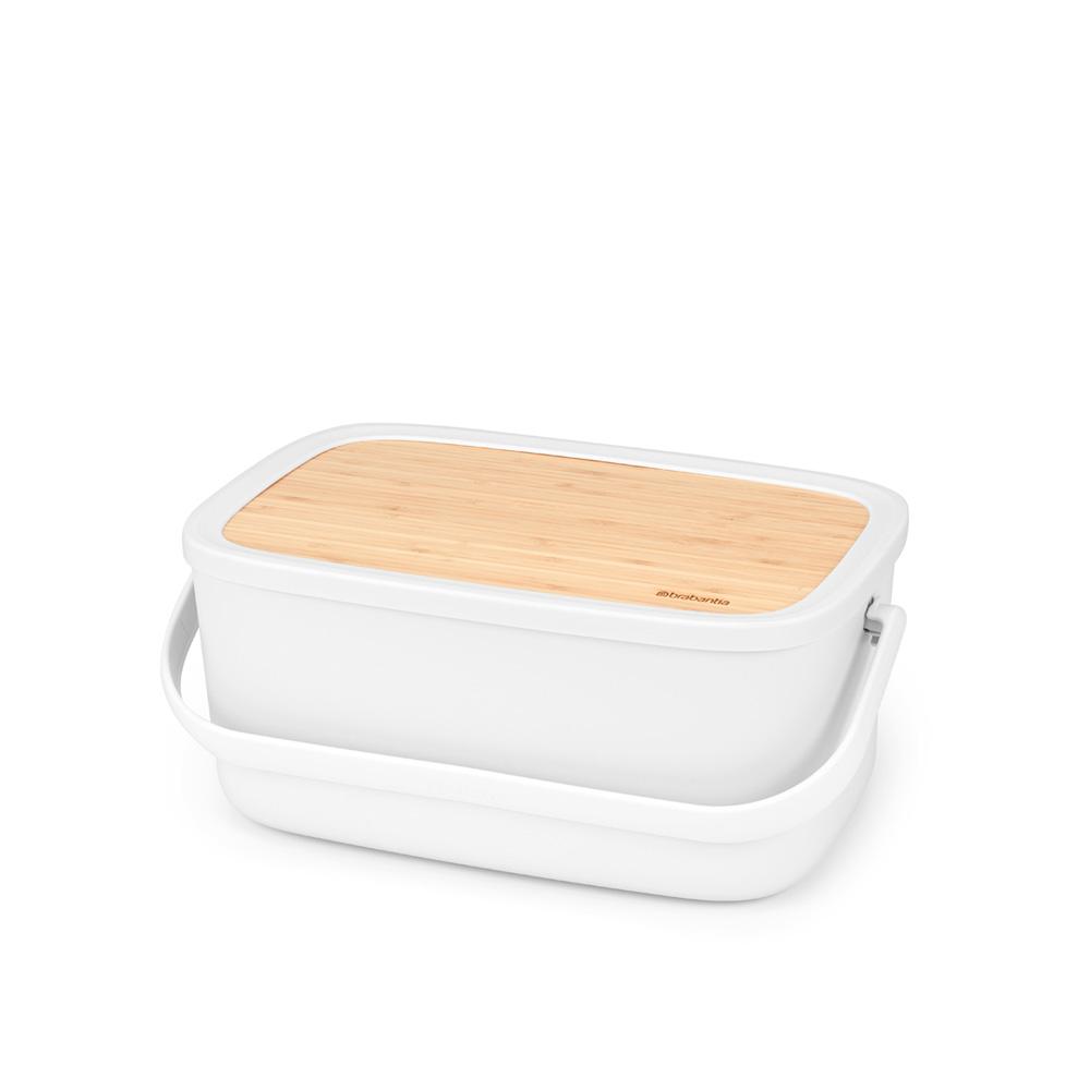 Кутия за хляб Brabantia Nic, Light Grey(6)