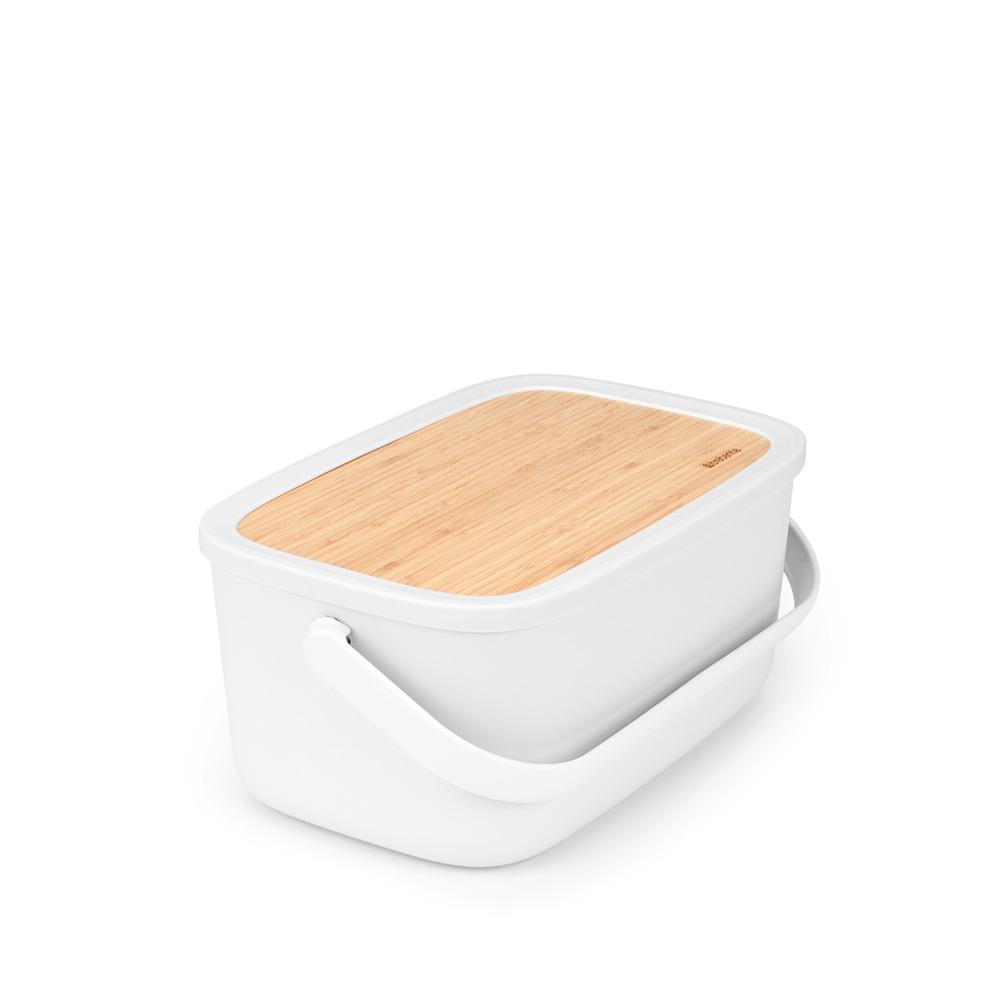 Кутия за хляб Brabantia Nic, Light Grey(8)
