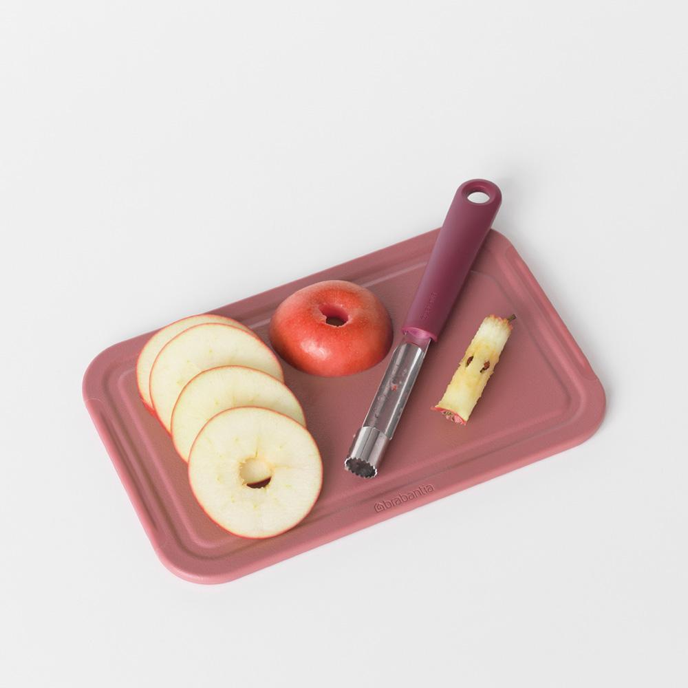 Уред за почистване на ябълки Brabantia Tasty+ Aubergine Red(1)
