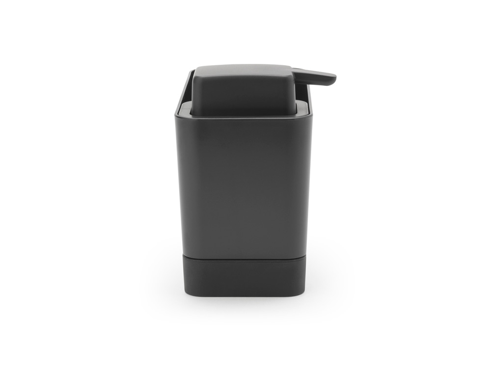 Органайзер за мивка с дозатор за течен сапун Brabantia Dark Grey(2)