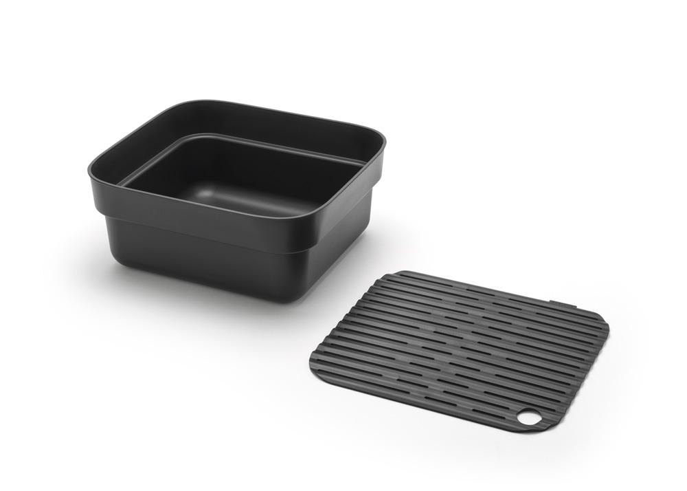 Купа за миене и отцеждане Brabantia, Dark Grey(4)