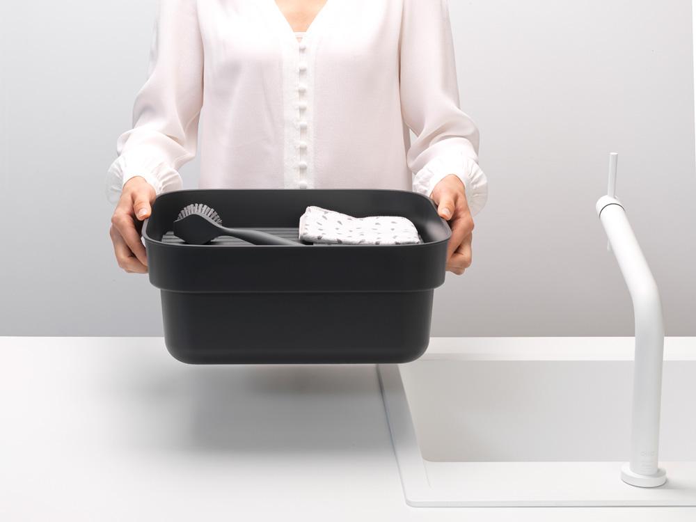 Купа за миене и отцеждане Brabantia, Dark Grey(6)