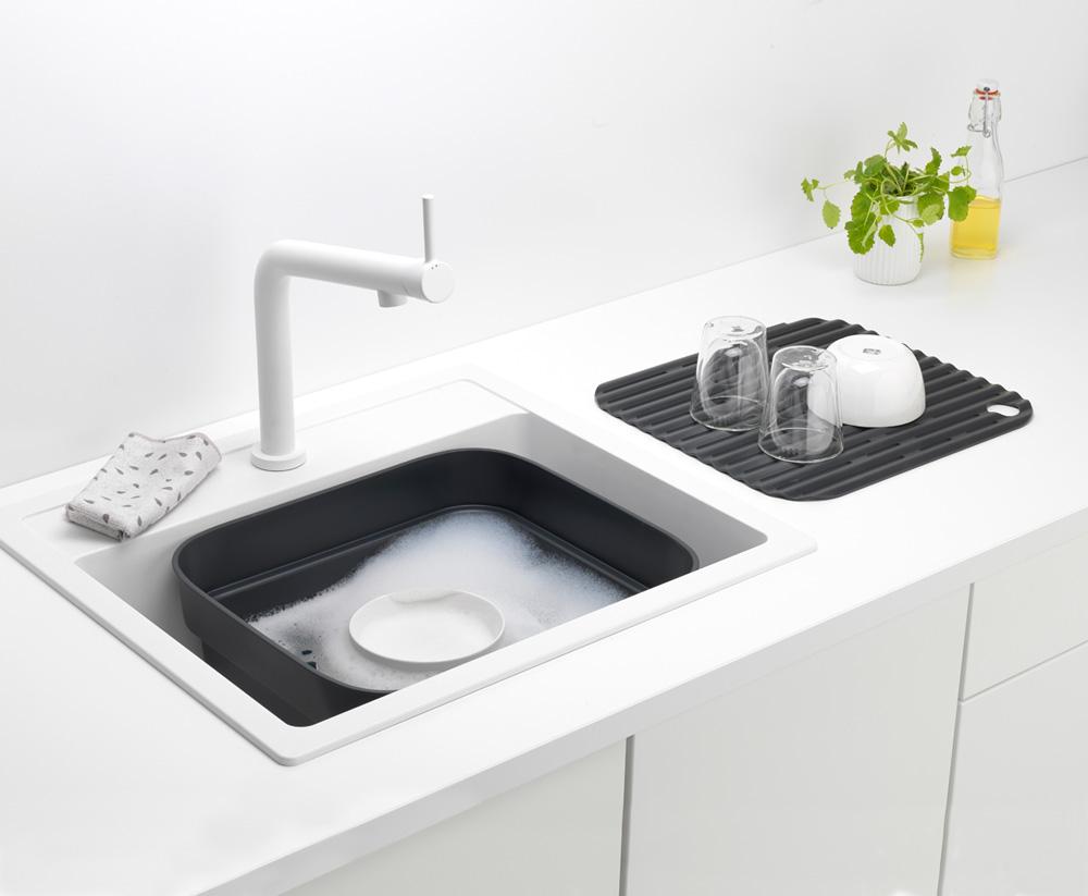 Купа за миене и отцеждане Brabantia, Dark Grey(8)