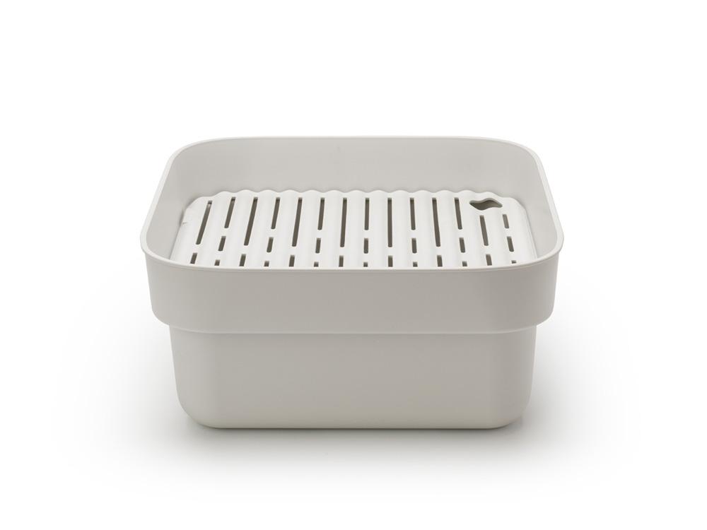 Купа за миене и отцеждане Brabantia, Light Grey(3)