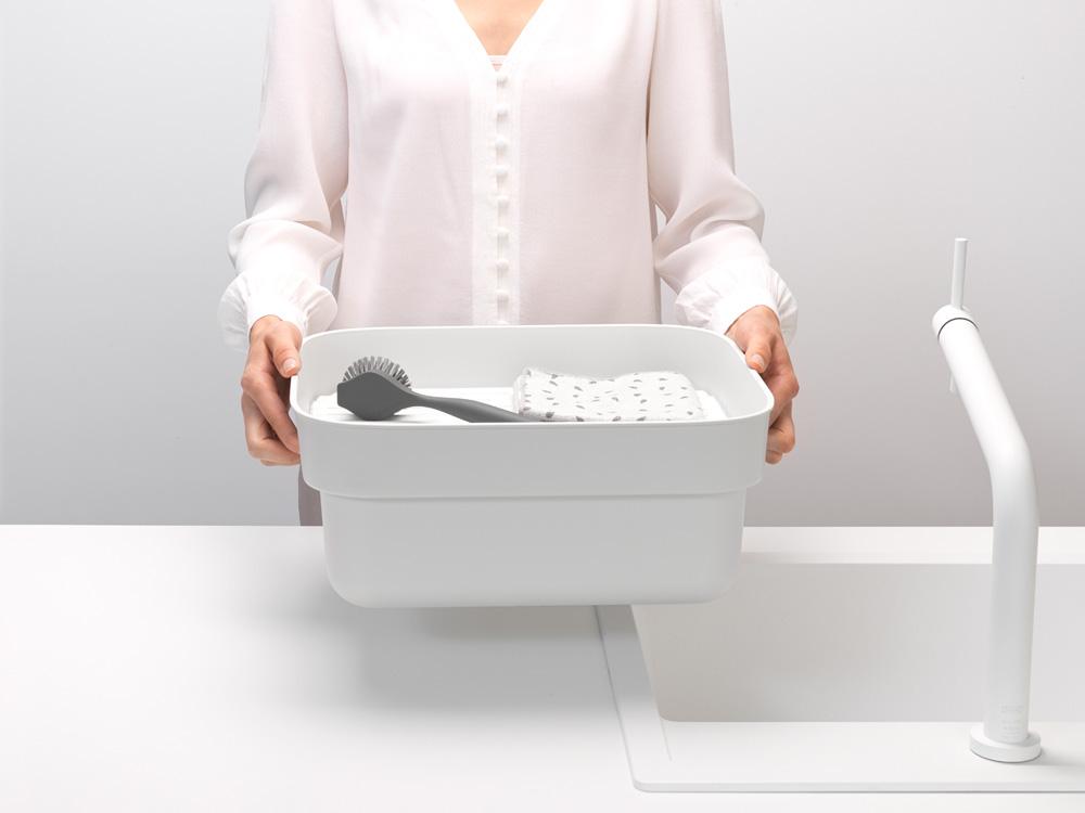 Купа за миене и отцеждане Brabantia, Light Grey(6)