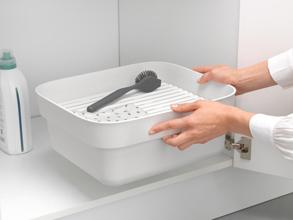 Купа за миене и отцеждане Brabantia, Light Grey(7)