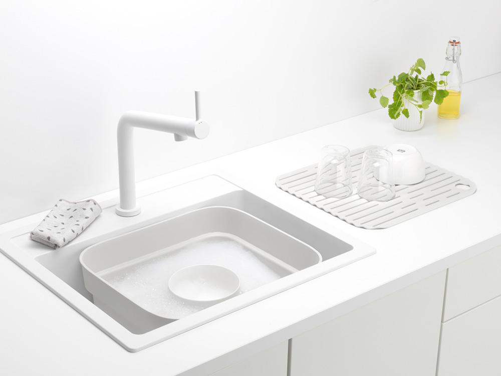 Купа за миене и отцеждане Brabantia, Light Grey(8)