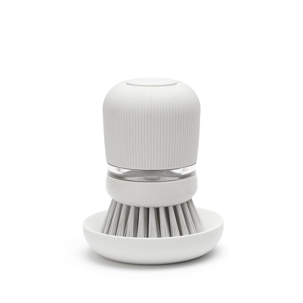 Четка с дозатор за течен сапун Brabantia Light Grey