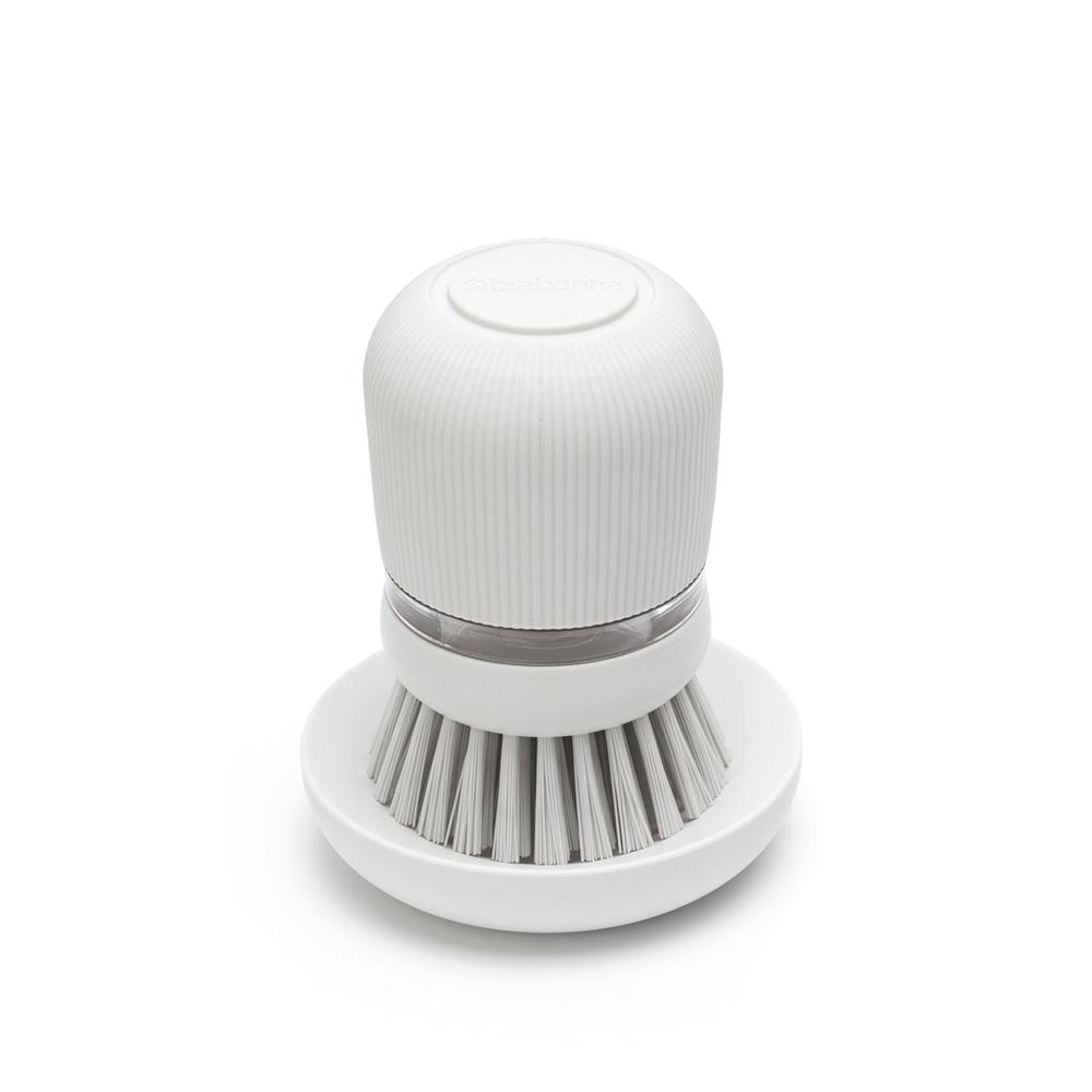 Четка с дозатор за течен сапун Brabantia Light Grey(2)