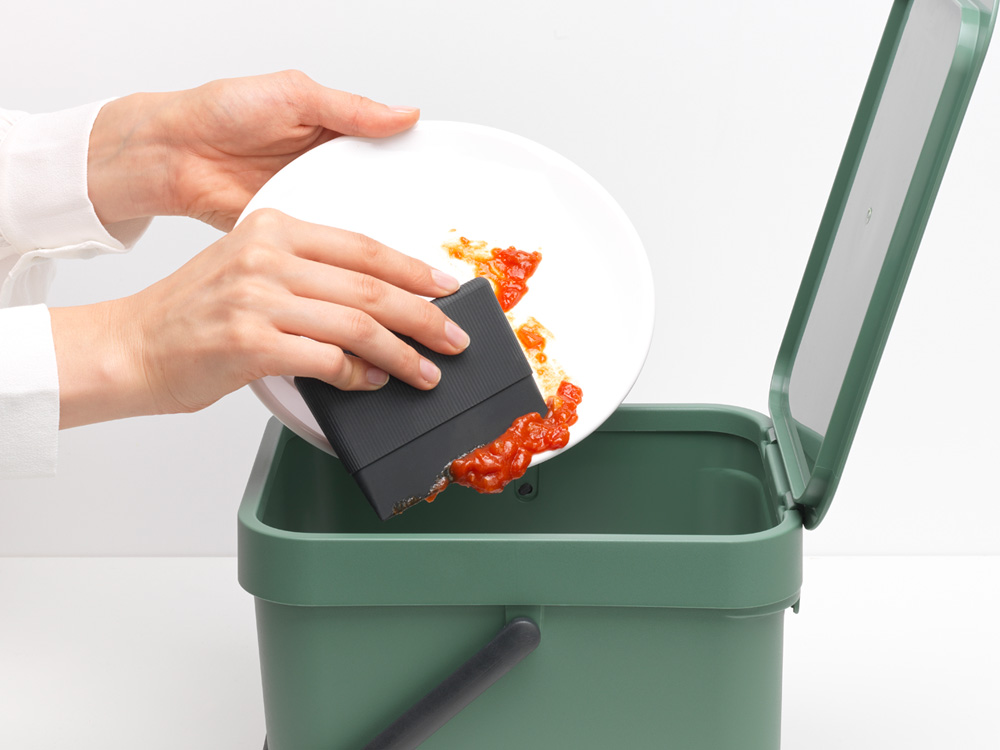 Уред за почистване и подсушаване на чинии Brabantia, Dark Grey(5)