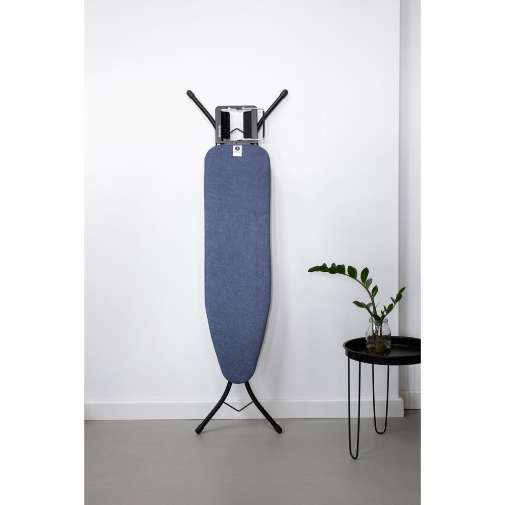 Маса за гладене Brabantia A 110x30cm с поставка за ютия, Denim Blue(2)