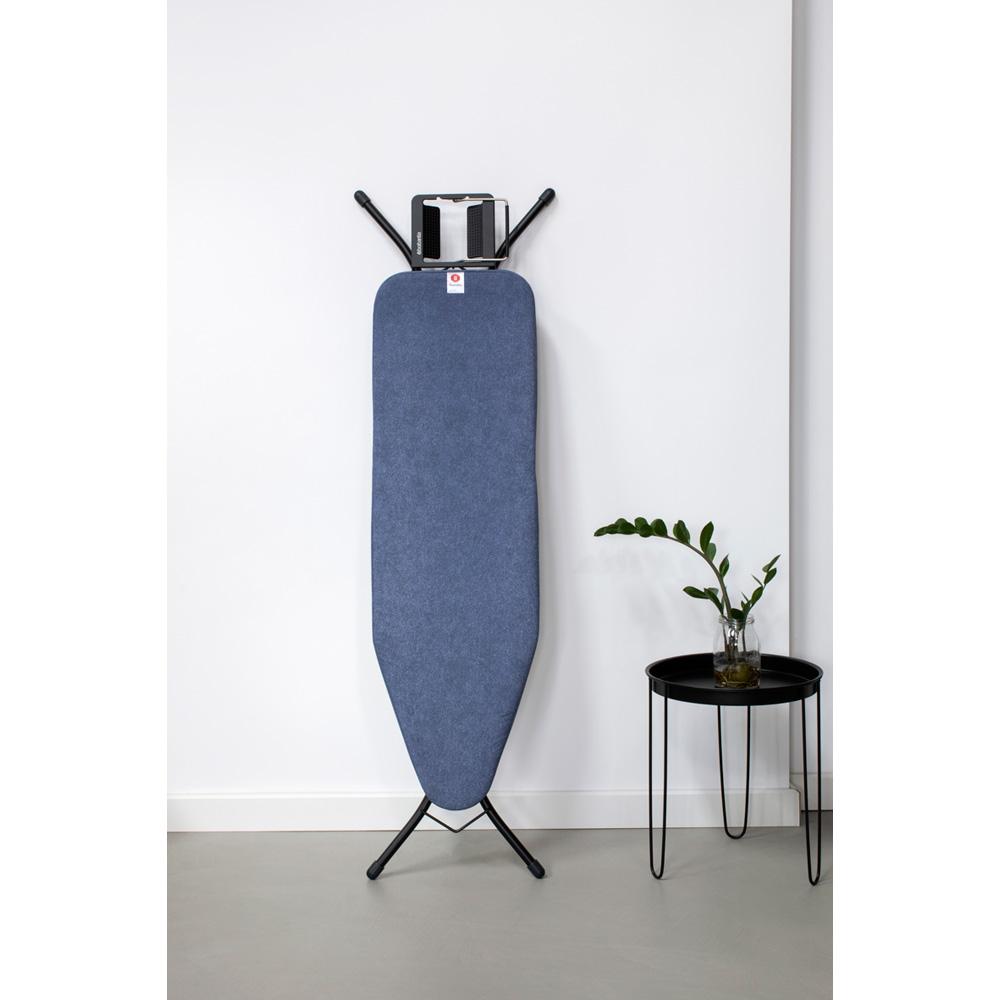 Маса за гладене Brabantia B 124x38cm с поставка за ютия, Denim Blue(2)
