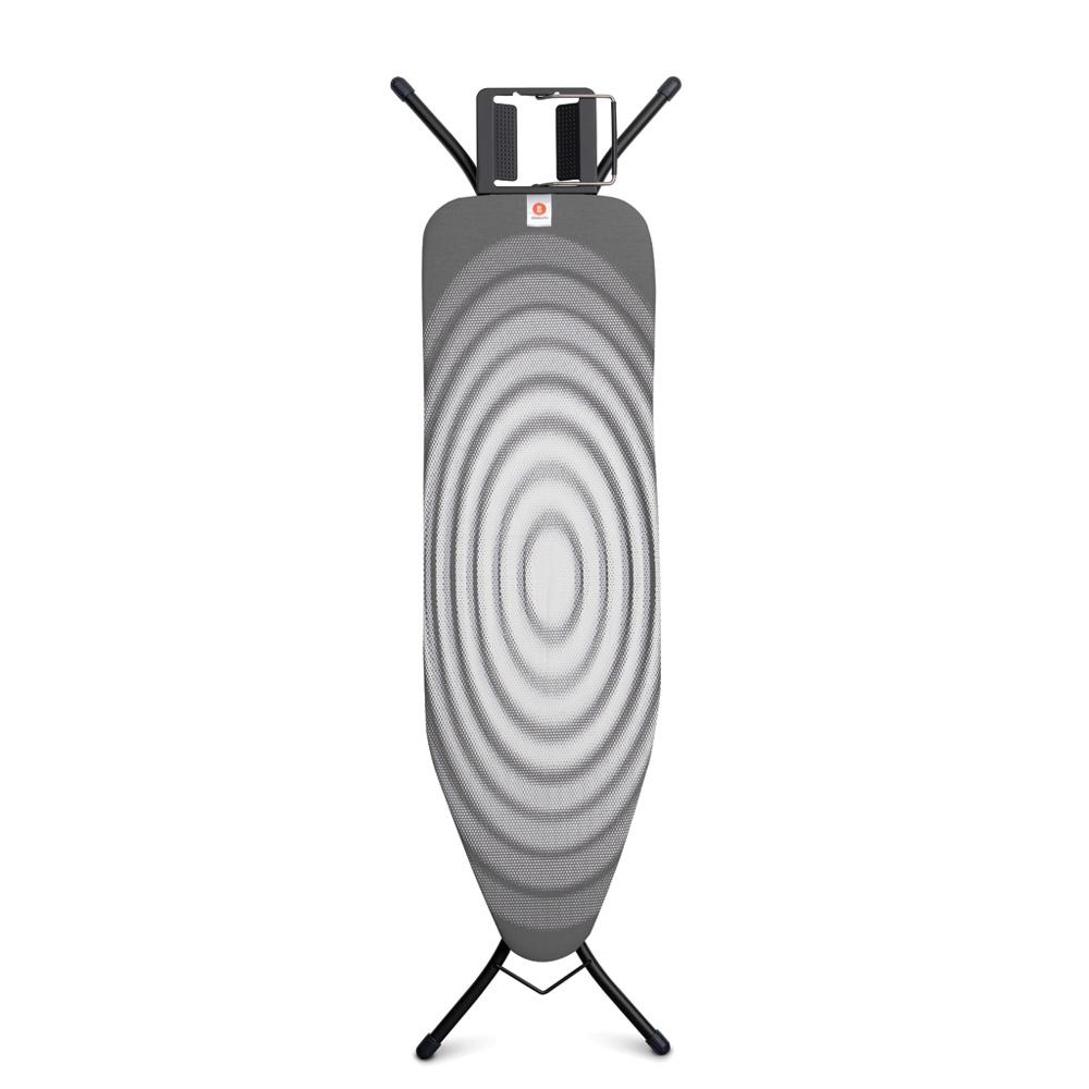 Маса за гладене Brabantia B 124x38cm с поставка за ютия, Titan Oval