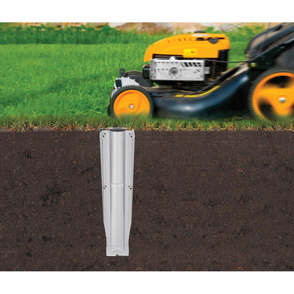 Външен простор Brabantia Essential 30m, 3 рамена, котва за бетониране(11)