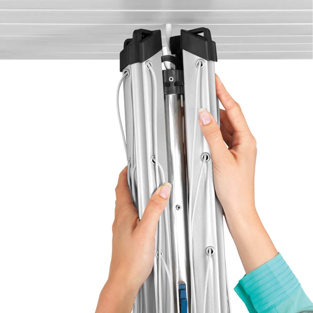 Външен простор Brabantia Essential 30m, 3 рамена, котва за бетониране(9)