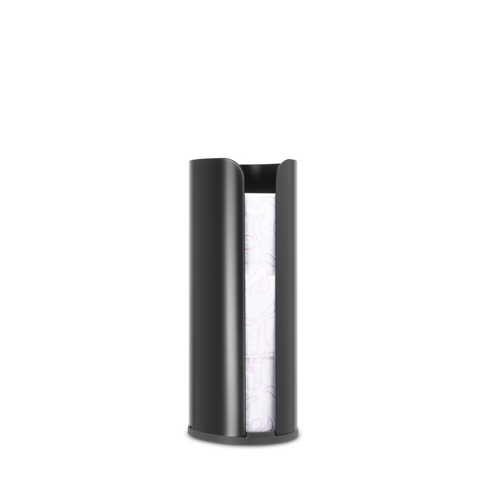 Стойка за резервна тоалетна хартия Brabantia Balance Collection, Matt Black(3)