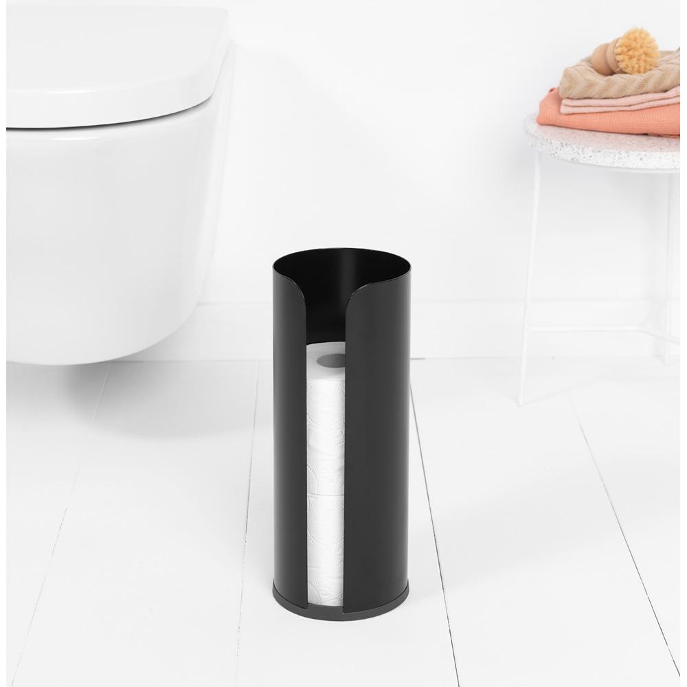 Стойка за резервна тоалетна хартия Brabantia Balance Collection, Matt Black(4)