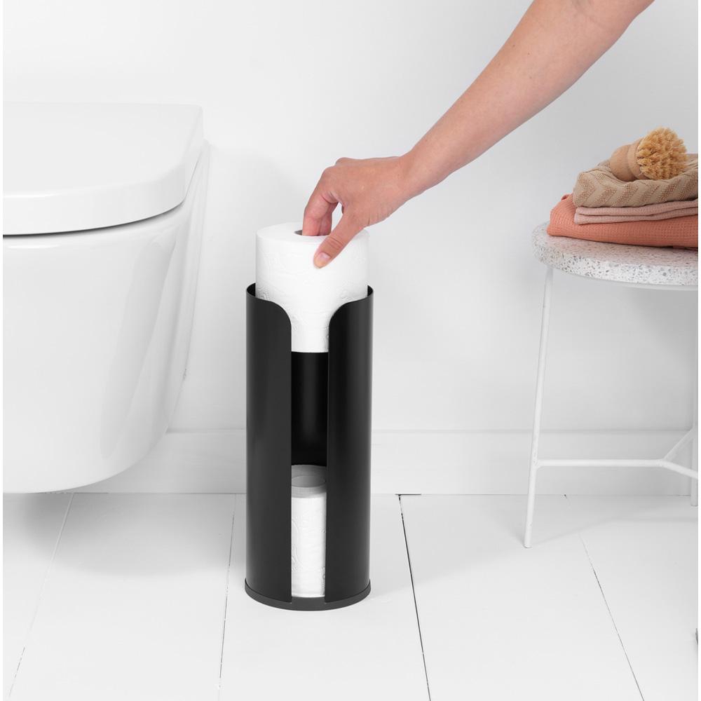 Стойка за резервна тоалетна хартия Brabantia Balance Collection, Matt Black(5)