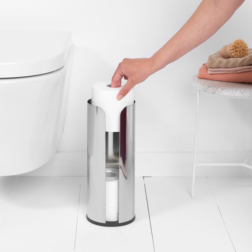 Стойка за резервна тоалетна хартия Brabantia Balance Collection, Brilliant Steel(5)