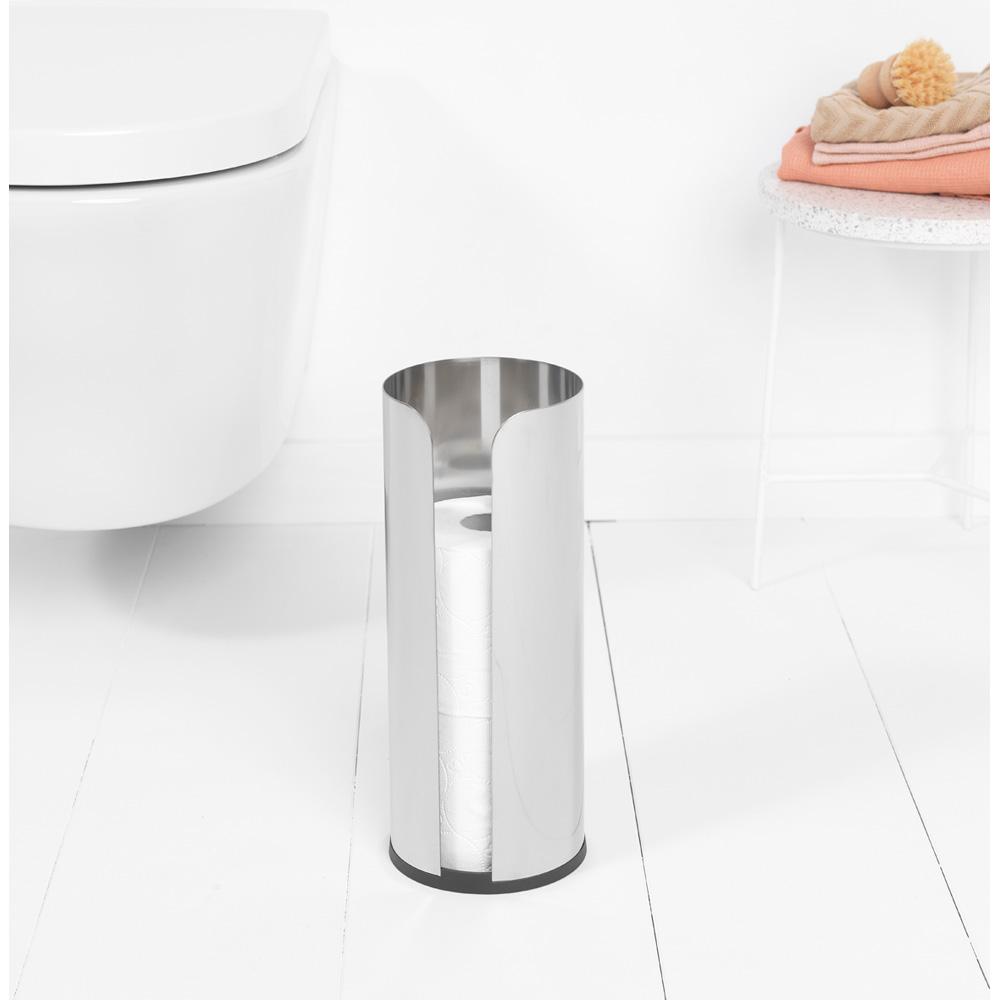 Стойка за резервна тоалетна хартия Brabantia Balance Collection, Matt Steel(9)