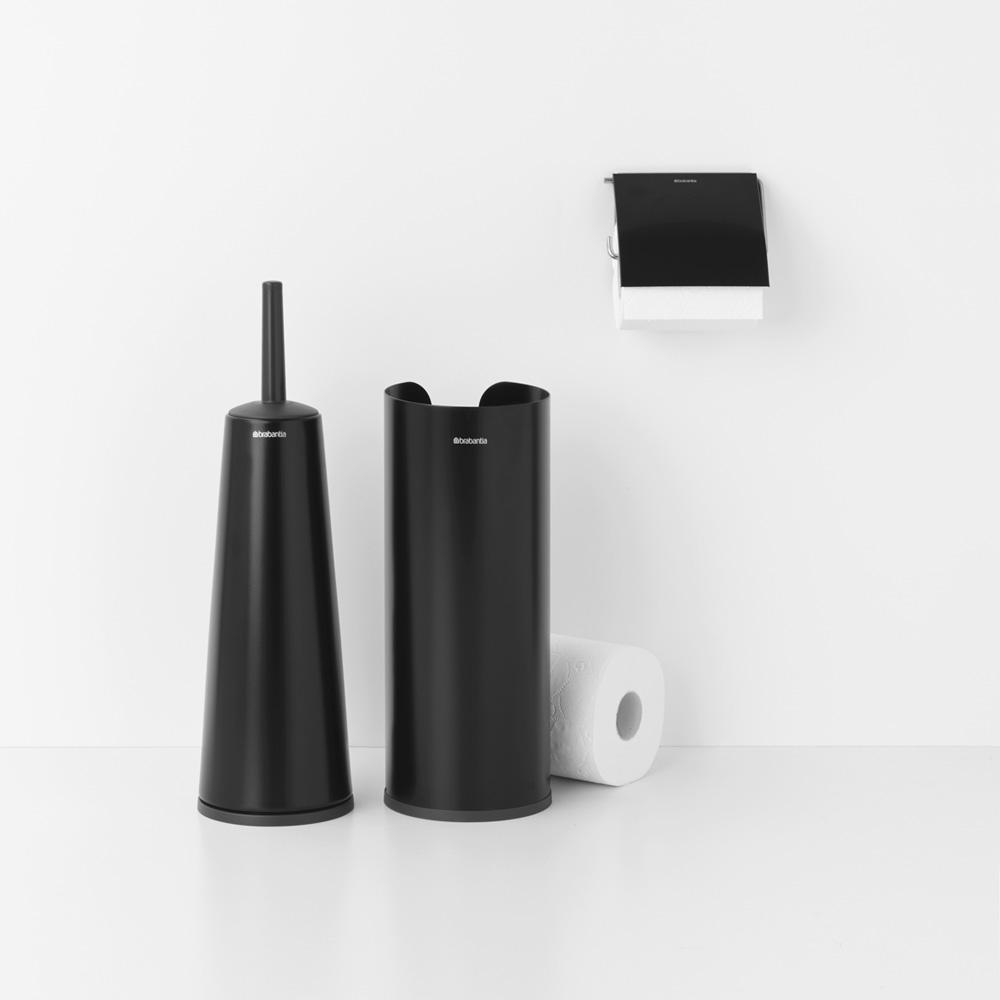 Аксесоари за тоалетна Brabantia Balance Collection, 3 части, Matt Black(2)