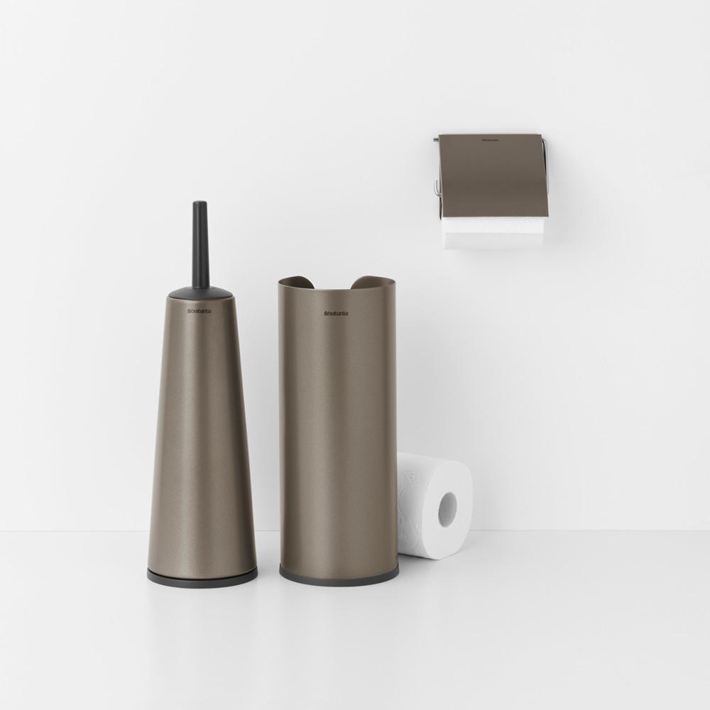 Аксесоари за тоалетна Brabantia Balance Collection, 3 части, Platinum(2)