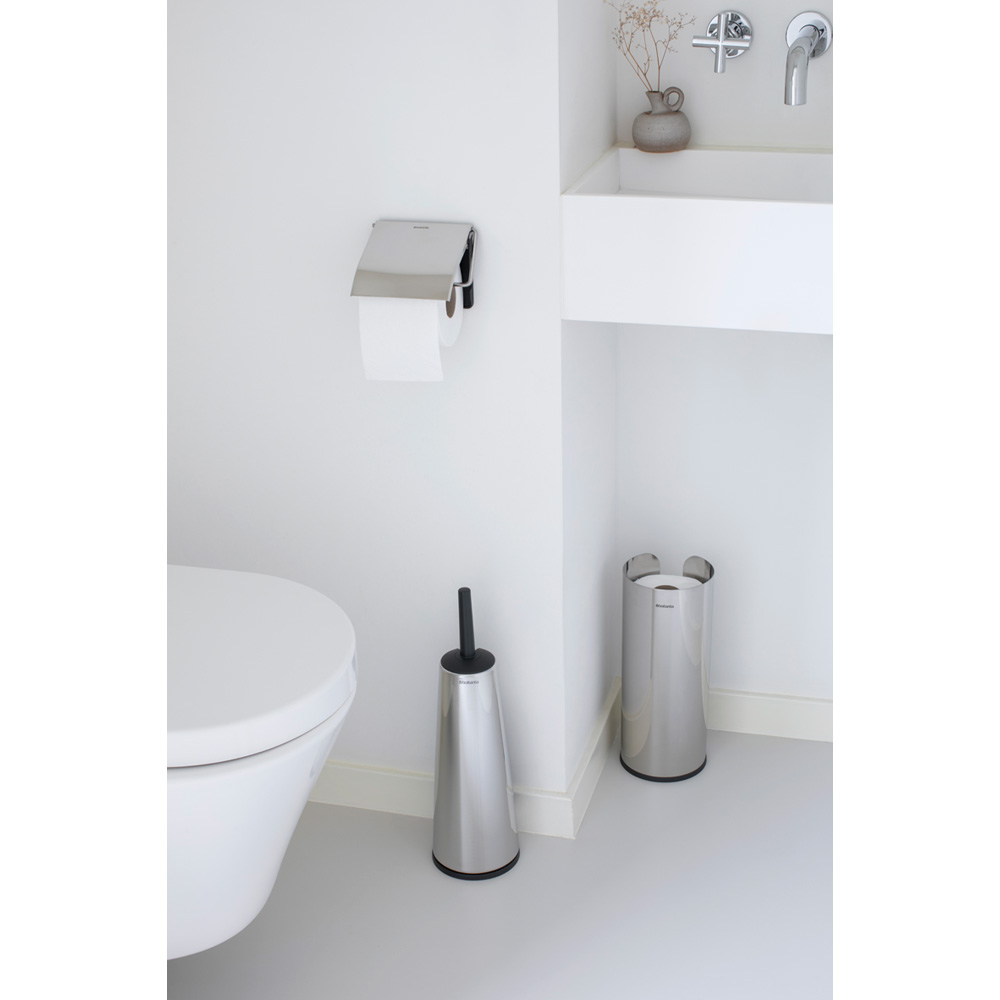 Аксесоари за тоалетна Brabantia Balance Collection, 3 части, Brilliant Steel(1)